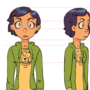 Character turnaround by olive6608