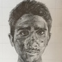 Scratchy Self Portrait by ScrawlRico