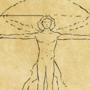 Vitruvian man - GIF by ShalevZohar