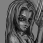 girl with gun sketch by soulkiller69