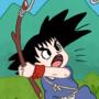 Kid Goku Fishing by Donpatch-XD
