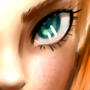 Green Eyes by Maakurika
