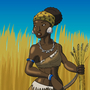 Natufian Woman by BrandonP