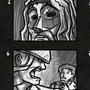 Hellboy Script Storyboard by henlp