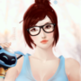 Mei - Animated by Zakuga
