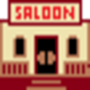 Old West Saloon by snowmanmedia