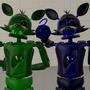 Me and badboyper by FoxyDaBandit