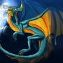 Water Dragon Concept Re-done by DragonloreStudios