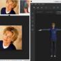 Ellen in Adobe Fuse