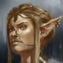 Elf portrait by SimonT