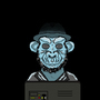 Gamer Monkey by MadCrainProductions