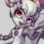 Krita mascot Kiki by maficmelody
