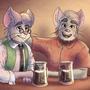 Drinking Buddies by fxscreamer