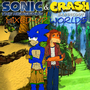 Crash n Sonic Comic Cover by Mizz-Swagnificent