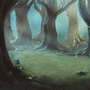Fantasy Forest by Hades-Pixels