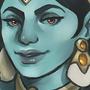 Goddess by meloramylin