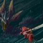 Long Sword vs Mizu by YariGrafight