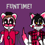 Funtime Jay & Funtime Tim by MegaEeveeX