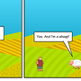 Kurly the Bear in: Is this a farm?? by MadKow1