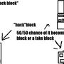 """""""hack""""block idea"""