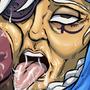 Old Lady Blow Job by Smashko2