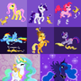 My little ponies! by Sev4