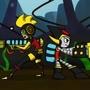 Water Fight by TreasureMan