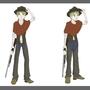 Character design - Cowboy Dillon by Jvanimator