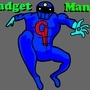 Gadget Man Original Super-Hero Art by LukeDaAnimatr