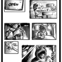 Practice comic page