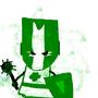 Castle Crasher (Green) by polikilopilolo