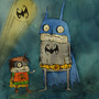 Batman & Robin Freak by dimitrikozma