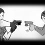 Chris vs D.VA by SwordArtLagoon
