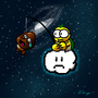 Lakitu in space by Harrying