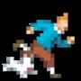 Day #113 - Tintin & Snowy