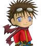 Chibi boy by Dragonwarrior77