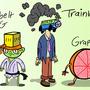 ACME Elixirs - Character Designs - Part 4 (Kartoon Krew pt.2) by MRGreenbeanz