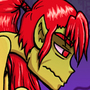 DragonGirl Stomachache by AuraV