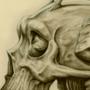 Bone Priest Portrait by Lowgan