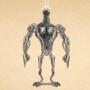 Quick sketch of a robot by sketchywarior