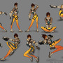 Figure Drawing - Part 5/30 (Tracer Poses) by rainwalker007