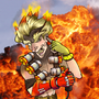Junkrat Doing What He Does Best by ChibiChris97