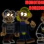 Monotonous Boredom Neon Wallpaper by Domonization