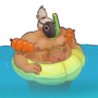 Pool Party RoadHog by k7vin