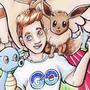 Pokemon GO Hunt! - Marker illustration by Ronny-van-Kuijk