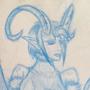 Demon Girl Sketch
