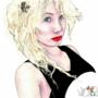 Beautiful blonde by ecartwork1