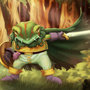 Such heroic frog knight by Evanatt
