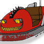 FNAF 4 - Nightmare Bumper Car by TMNTSam