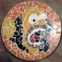 A Mosaic Abstract I made of Homer Simpson by 1000BucklesofVictory